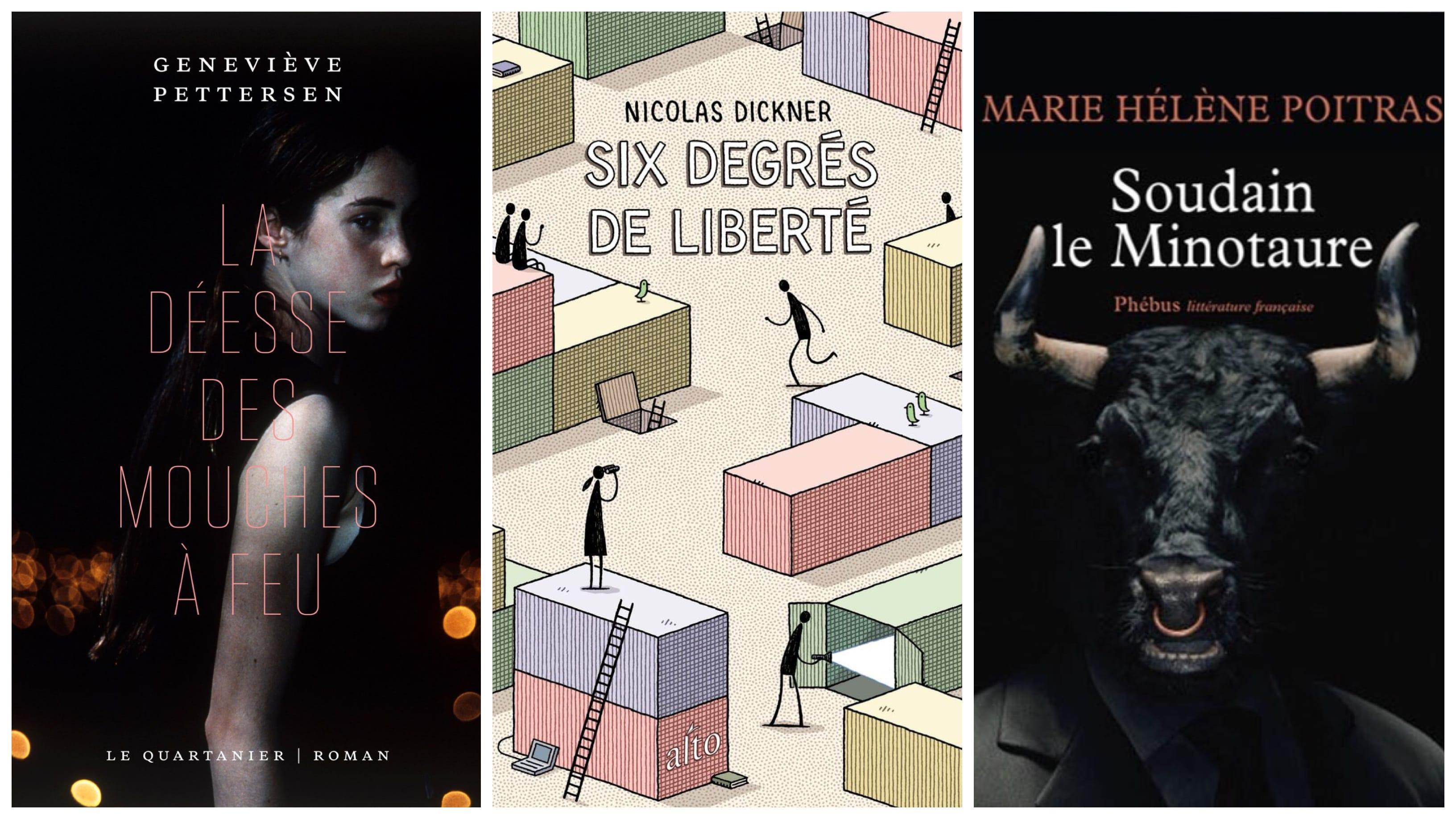 Quebec literatuur: Pettersen, Dickner en Poitras