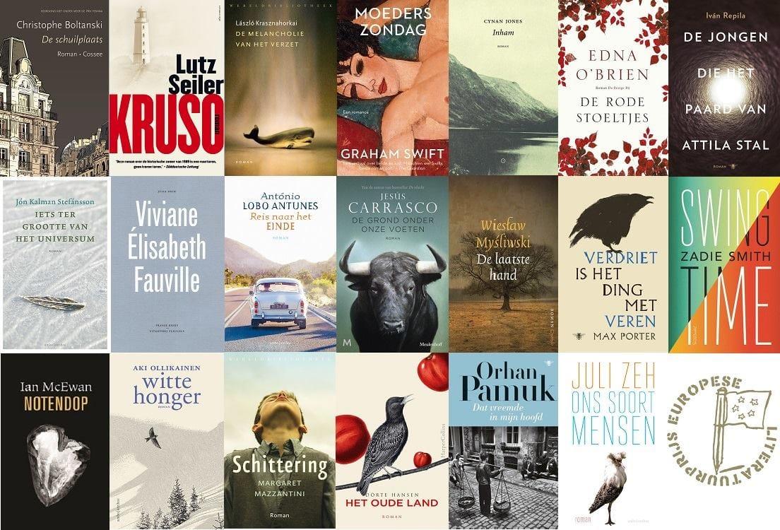 Genomineerde boeken Europese Literatuurprijs